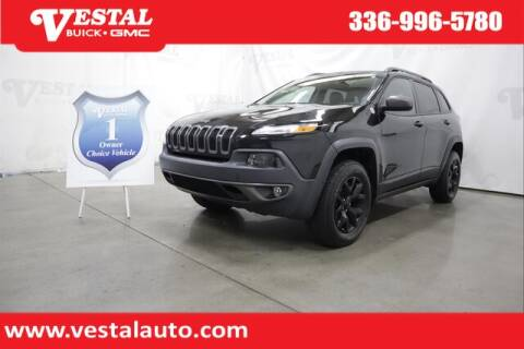 2016 Jeep Cherokee for sale at VESTAL BUICK GMC in Kernersville NC