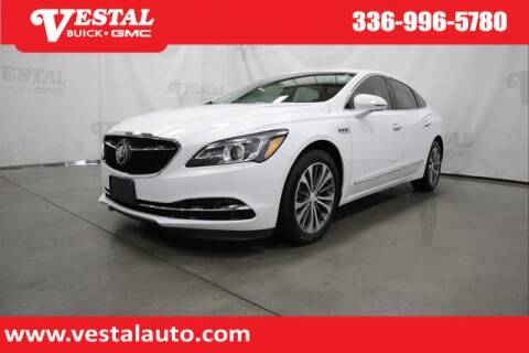 2019 Buick LaCrosse for sale at VESTAL BUICK GMC in Kernersville NC