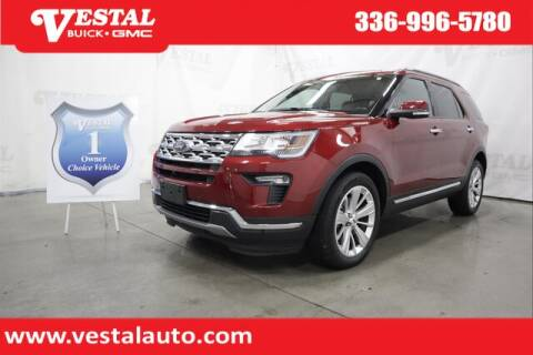 2019 Ford Explorer for sale at VESTAL BUICK GMC in Kernersville NC