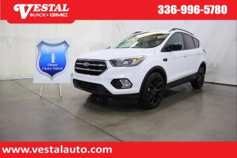 2019 Ford Escape for sale at VESTAL BUICK GMC in Kernersville NC
