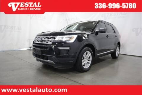 2018 Ford Explorer for sale at VESTAL BUICK GMC in Kernersville NC