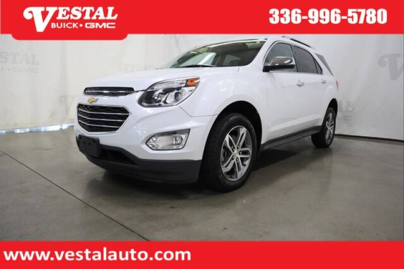 2017 Chevrolet Equinox for sale at VESTAL BUICK GMC in Kernersville NC