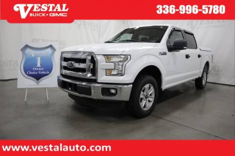 2016 Ford F-150 for sale at VESTAL BUICK GMC in Kernersville NC