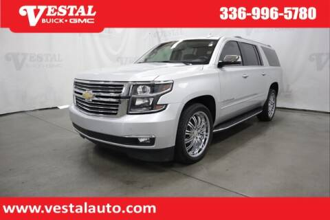2018 Chevrolet Suburban for sale at VESTAL BUICK GMC in Kernersville NC