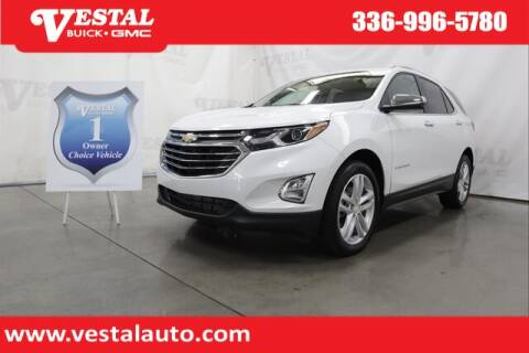 2019 Chevrolet Equinox for sale at VESTAL BUICK GMC in Kernersville NC