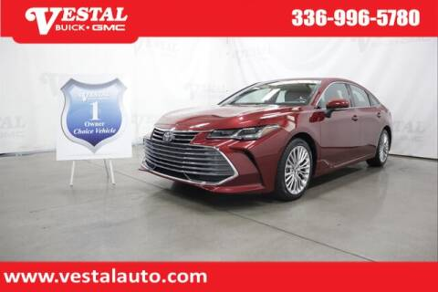 2019 Toyota Avalon for sale at VESTAL BUICK GMC in Kernersville NC