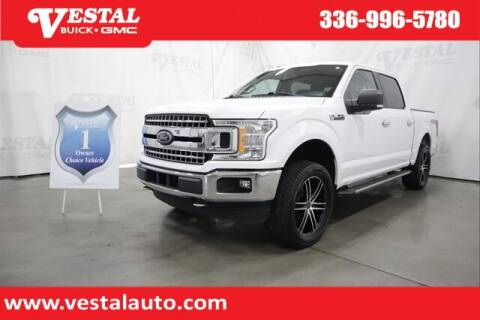 2018 Ford F-150 for sale at VESTAL BUICK GMC in Kernersville NC