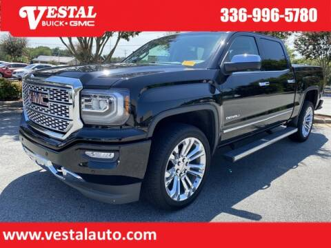 2018 GMC Sierra 1500 for sale at VESTAL BUICK GMC in Kernersville NC