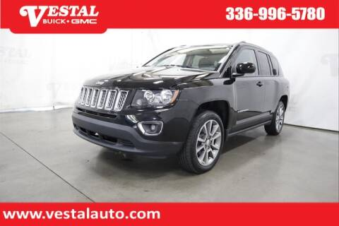 2016 Jeep Compass for sale at VESTAL BUICK GMC in Kernersville NC