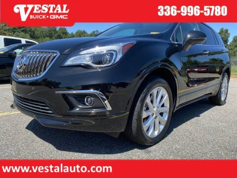 2016 Buick Envision for sale at VESTAL BUICK GMC in Kernersville NC