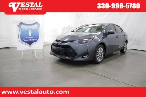 2018 Toyota Corolla for sale at VESTAL BUICK GMC in Kernersville NC