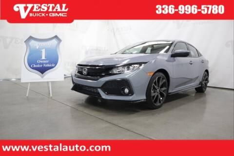 2019 Honda Civic for sale at VESTAL BUICK GMC in Kernersville NC