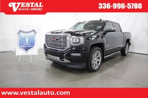 2017 GMC Sierra 1500 for sale at VESTAL BUICK GMC in Kernersville NC