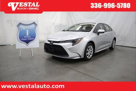 2020 Toyota Corolla for sale at VESTAL BUICK GMC in Kernersville NC