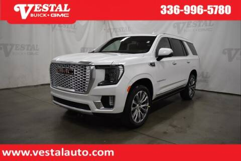 2021 GMC Yukon for sale at VESTAL BUICK GMC in Kernersville NC