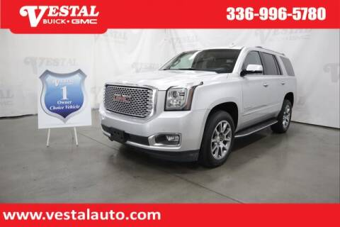 2016 GMC Yukon for sale at VESTAL BUICK GMC in Kernersville NC