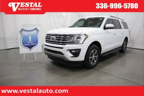2019 Ford Expedition MAX for sale at VESTAL BUICK GMC in Kernersville NC