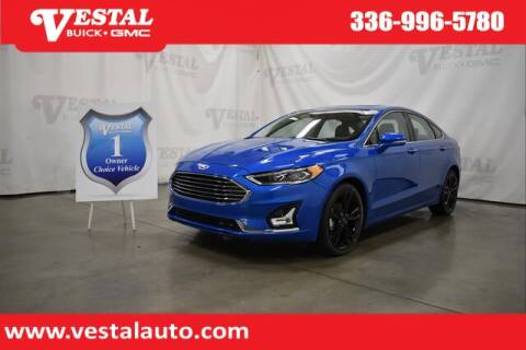 2020 Ford Fusion for sale at VESTAL BUICK GMC in Kernersville NC