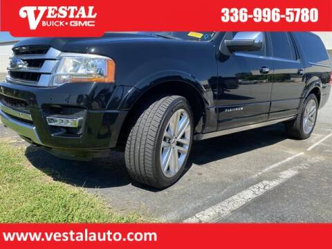 2016 Ford Expedition EL for sale at VESTAL BUICK GMC in Kernersville NC