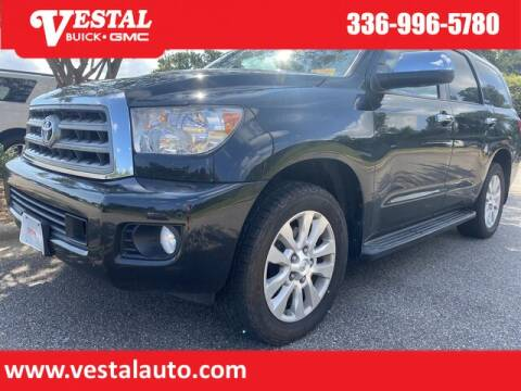 2014 Toyota Sequoia for sale at VESTAL BUICK GMC in Kernersville NC