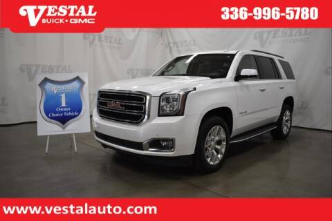 2017 GMC Yukon for sale at VESTAL BUICK GMC in Kernersville NC