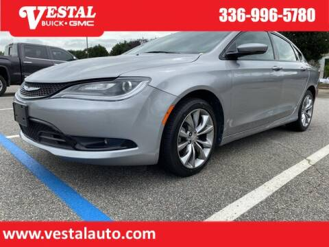 2015 Chrysler 200 for sale at VESTAL BUICK GMC in Kernersville NC