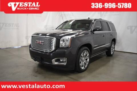 2015 GMC Yukon for sale at VESTAL BUICK GMC in Kernersville NC