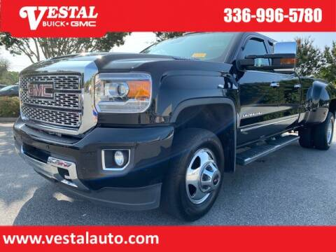 2018 GMC Sierra 3500HD for sale at VESTAL BUICK GMC in Kernersville NC