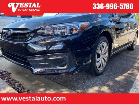 2020 Subaru Impreza for sale at VESTAL BUICK GMC in Kernersville NC