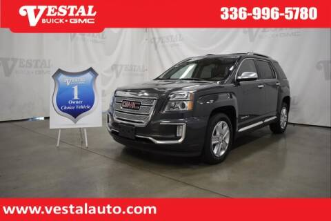 2017 GMC Terrain for sale at VESTAL BUICK GMC in Kernersville NC