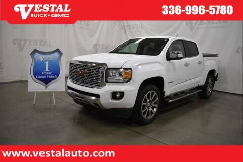 2017 GMC Canyon for sale at VESTAL BUICK GMC in Kernersville NC
