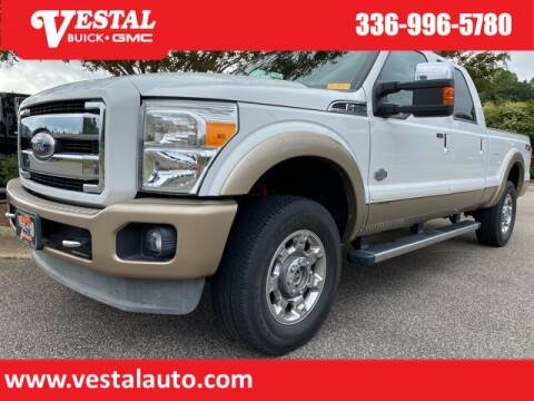 2012 Ford F-250 Super Duty for sale at VESTAL BUICK GMC in Kernersville NC
