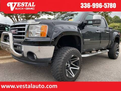2012 GMC Sierra 1500 for sale at VESTAL BUICK GMC in Kernersville NC