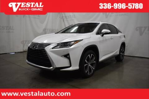 2019 Lexus RX 350 for sale at VESTAL BUICK GMC in Kernersville NC