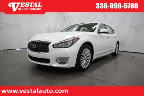 2015 Infiniti Q70L for sale at VESTAL BUICK GMC in Kernersville NC