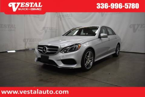 2016 Mercedes-Benz E-Class for sale at VESTAL BUICK GMC in Kernersville NC