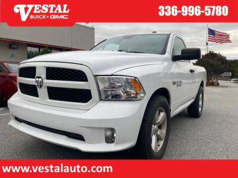 2014 RAM Ram Pickup 1500 for sale at VESTAL BUICK GMC in Kernersville NC