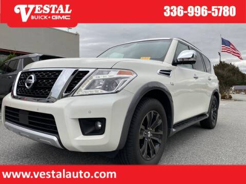 2017 Nissan Armada for sale at VESTAL BUICK GMC in Kernersville NC