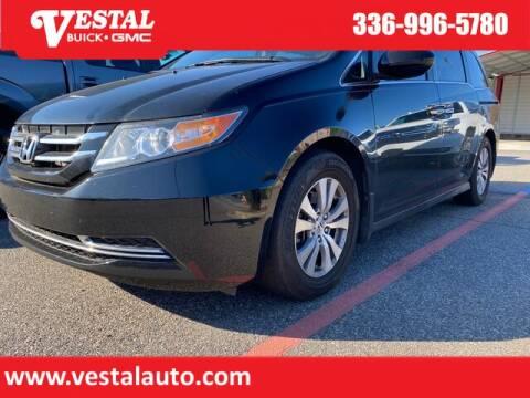 2015 Honda Odyssey for sale at VESTAL BUICK GMC in Kernersville NC
