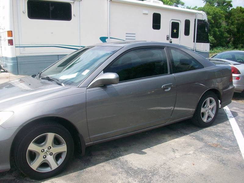 2004 Honda Civic EX 2dr Coupe w/Side Airbags - Tarpon Springs FL