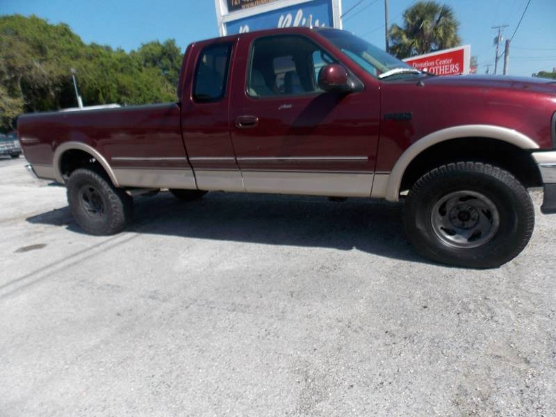1997 Ford F-150 3dr XL 4WD Extended Cab LB - Tarpon Springs FL