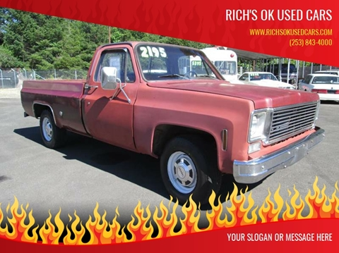 1977 GMC Sierra 2500 Classic for sale in Roy, WA