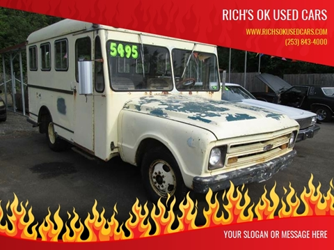 1967 Chevrolet C/K 3500 Series for sale in Roy, WA