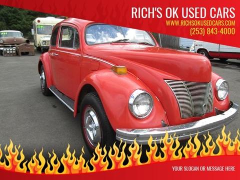 1972 Volkswagen Beetle for sale in Roy, WA