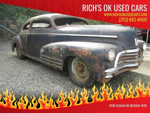 Used Cars Roy Used Cars Puyallup WA Roy WA Rich's OK Used Cars