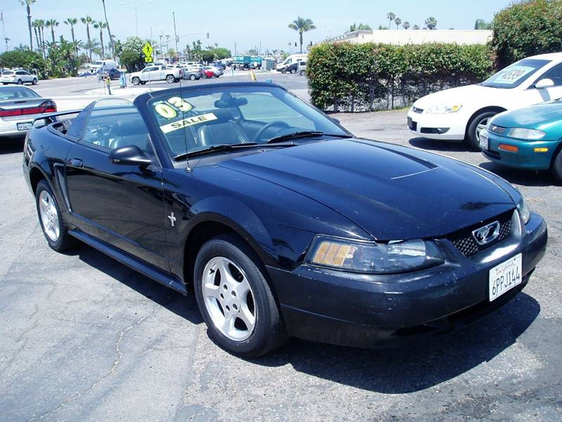 2003 Ford Mustang Deluxe 2dr Convertible - Imperial Beach CA
