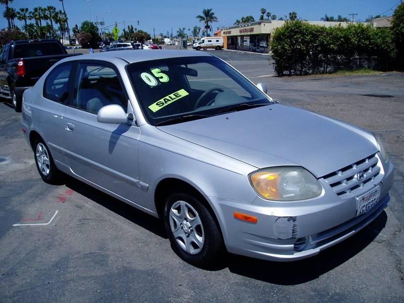 2005 Hyundai Accent GLS 2dr Hatchback   Imperial Beach CA