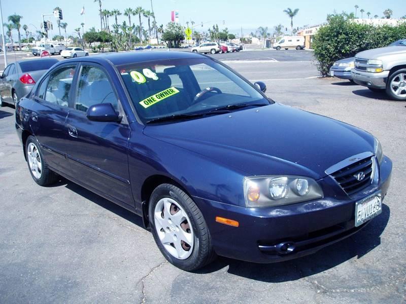 2004 Hyundai Elantra GLS 4dr Sedan   Imperial Beach CA