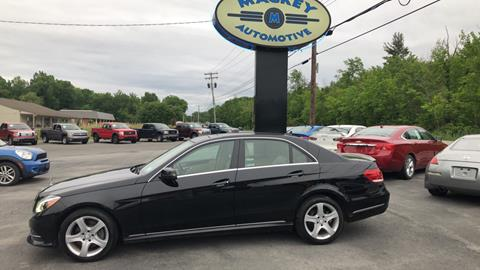 2014 Mercedes-Benz E-Class for sale in Round Lake, NY