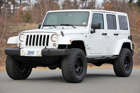 2016 Jeep Wrangler Unlimited for sale in Hampstead, NH